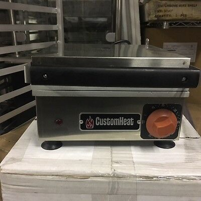 """WOW"" CustomHeat Commercial Electric Sandwich Grill by Croydon"