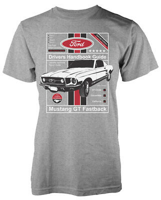 Ford 'Drivers Handbook Guide' T-Shirt - NEW & OFFICIAL!
