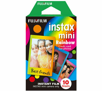 FUJIFILM Instax Mini Film - Rainbow - Currys