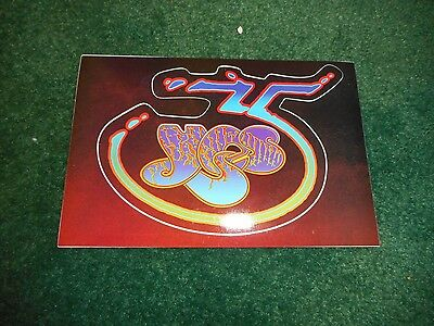 Yes - 35Th Anniversary Collection - Original Promo Sticker