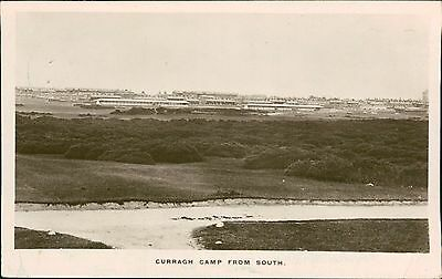 Curragh Camp from South. Soldiers Camp Buildings Kildare  QS.1234