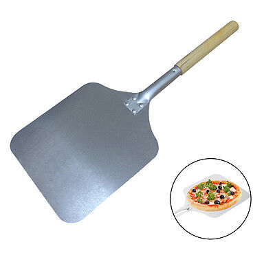 "Pizza Peel Bakers Oven Restaurant Paddle - Wooden Handle - 66cm (26"") Overall"