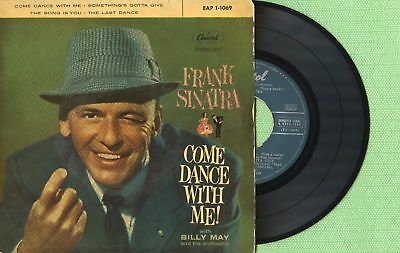 23e20096 FRANK SINATRA / Come Dance With Me / CAPITOL EAP 1-1069 Press Spain 1960