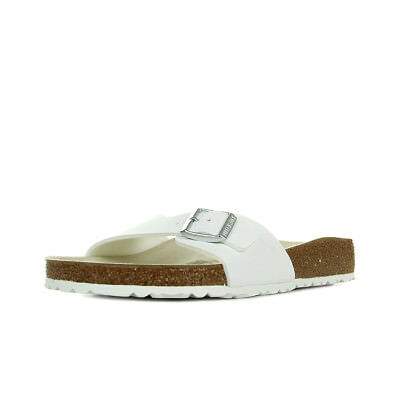 Sandales Nu Pieds Birkenstock homme Madrid taille Blanc Blanche Synthétique A