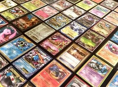 Pokemon Tcg: 100 Card Lot With A Guaranteed Pokemon Gx, Ex, Mega, Or Secret Rare