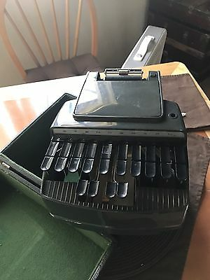 Vintage Stenograph Reporter Model / Stenographic Machines Inc Skokie