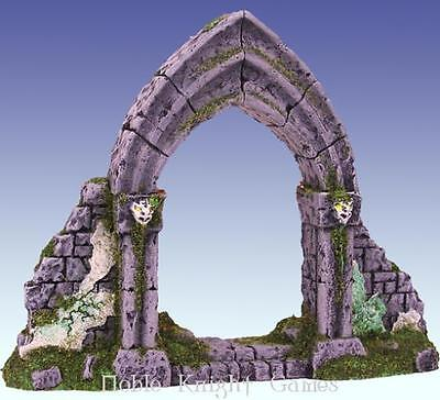 Scotia Grendel Historical Mini Resin 25mm Ruined Gothic Archway Pack MINT