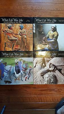 Time Life What Life Was Like Books Lot Of 4