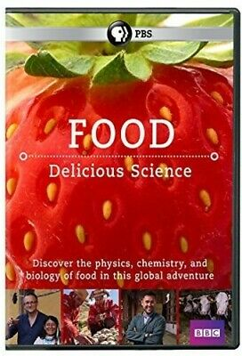 Food: Delicious Science (2017, DVD NEW)