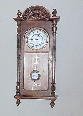 Howard Miller Wall Clock, 612-462  chime, key wind movement, with key