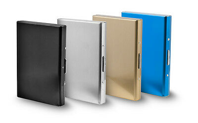 Stainless Steel Credit Card Holder,RFID Blocking Business Card Case,Slim Wallet