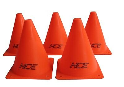 6Pcs 15cm Sports Training Safety Cones Traffic Marker Football, Tennis and More