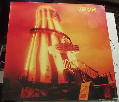 Vow Wow Helter Skelter 1989 Arista 209 691 A1 B1 Excellent German Pressing  Ex