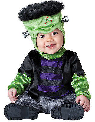 Monster-BOO Baby Frankenstein Infant Scary Halloween Costume M (12-18 months)