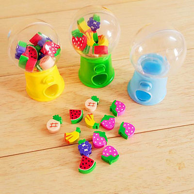 Lovely Toy Mini Candy Dispenser Gumball Vending Machine Coin Box Kid Baby Toy