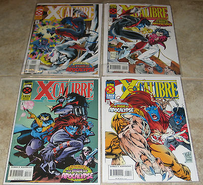 X-Calibre #1 2 3 4 Age of Apocalypse Marvel Comics X-men Xmen
