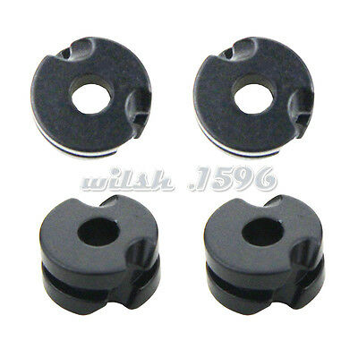 3PCS Black 1/8'' and 3/16'' Archery Aluminum Peep Sight for Hunting Compound Bow