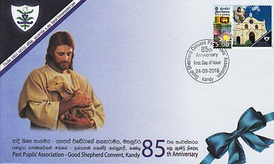 Special Commemorative Cover : 85th Anniversary - Good Shepherd Convent, Kandy