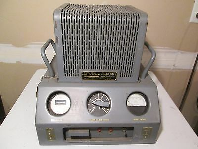 Vintage J-95B /CRD-2 Junction Box  Military Radio Receiver US Army Signal Corps