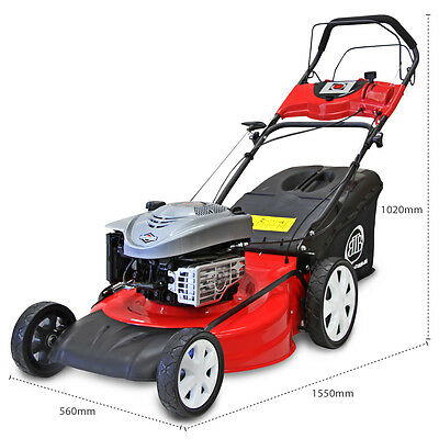 "NEW BBT Briggs & Stratton 21"" SELF PROPELLED B&S LAWN MOWER big boys toys"