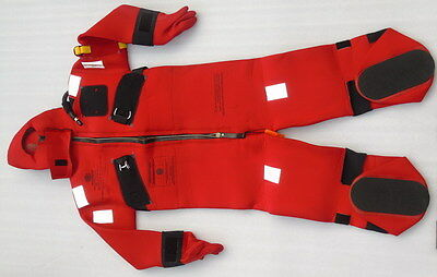 Year 2011 Stearns Immersion Suit 1590 Us Coast Guard Solas Approved Diving Suits