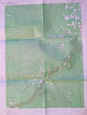 USGS  Topographic Map  1966 Sandhill Crossing Klamath County Oregon