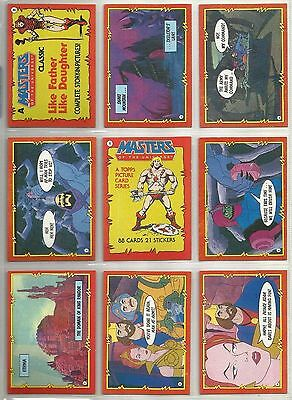 Masters of the Universe - Complete Card Set (1-88) 1984 Topps @ Near Mint
