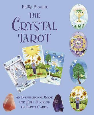 The Crystal Tarot by Philip Permutt | Paperback Book | 9781907030574 | NEW