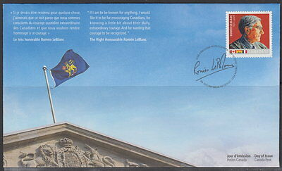 Canada #2370 57¢ The Right Honourable Romeo Leblanc First Day Cover
