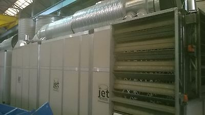 industrial air handling unit chiller refrigeration  heating air filtration 400kw