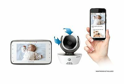 LCD Parent 4.3''  Digital Dual Mode Video Baby Monitor WiFi Internet Sharp View