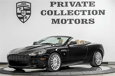 2007 Aston Martin DB9 Volante Convertible 2-Door 2007 Aston Martin DB9 Convertible 2 Owner Clean Carfax 24k Original Miles