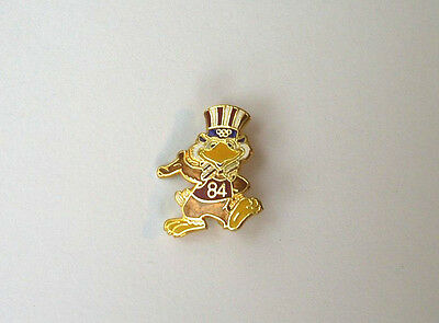 "Vintage '84 Olympics, pin button, 11/16"" x 1"""