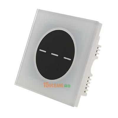 Smart Wall Touch Light Switch Panel 3 Gangs 1 Way Wireless Wifi Remote Control