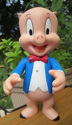 Vintage 1995 Looney Tunes PORKY PIG posable collector figure