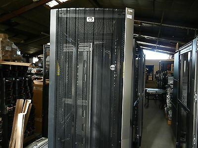 Hp 42 Ru Server Rack With Front,back Doors, Key, Sides- Complete, Pickup Only