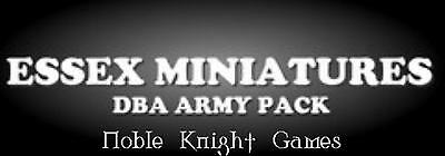 Essex DBA V2 Book 3 15mm Arab Conquest Army Pack - 639-660 AD Pack MINT
