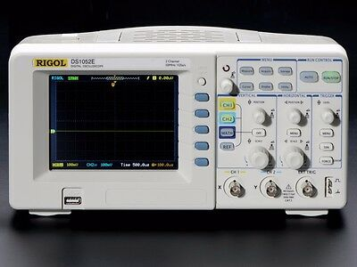 Rigol Oscilloscope 50MHz Dual CH DS1052E US Ship (NEW, Open Box)