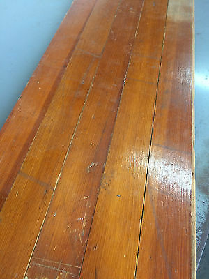 "Reclaimed Antique 2-3/8"" Pine Flooring 2000 Square Feet AMAZING Long Boards"