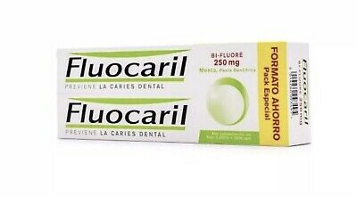 Pack 2x Fluocaril 125ml Toothpaste. 250ml Total
