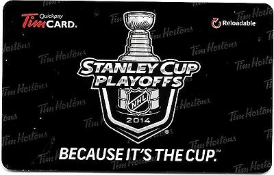Tim Hortons 2014  Stanley Cup Playoffs