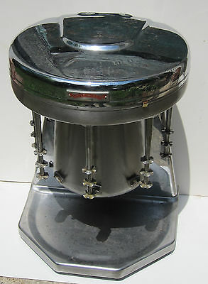Multimixer Model 9B 5 Five Cup Milkshake Maker Stainless Steel Chrome Vintage