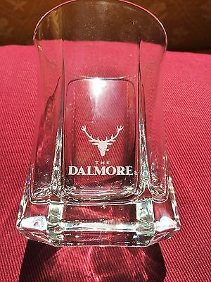 """""""The Dalmore"""" Scotch Whiskey 6 Sided  Glass Advertising"""
