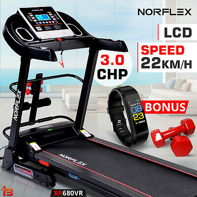 NEW NORFLEX 3.0CHP Treadmill Exercise Auto Incline Equipment Electric Motor