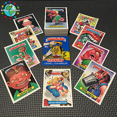 GARBAGE PAIL KIDS 14th SERIES 14 COMPLETE 88-CARD SET 1988 +FREE WAX WRAPPER