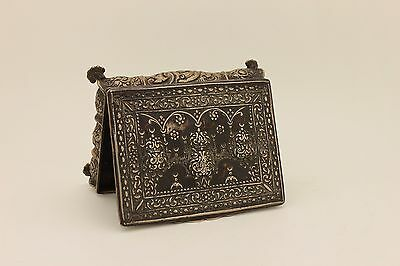 Antique Original Islamic Amazing Ottoman  Silver Box