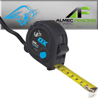 OX Tools Trade Tape Measure 8m/26ft Metric/Imperial