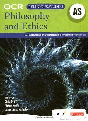 OCR AS Philosophy and Ethics Student Book (OCR GCE Religious Studies Ethics 20,
