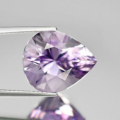 Gorgeous! 6.99ct 14.5x12.5mm Pear Brilliant Natural Unheated Purple Amethyst