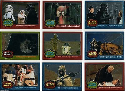 Star Wars Chrome Archives - Complete Card Set (1-90) 1999 Topps @ Near Mint